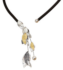 "Collier ""Falling Leaves"""