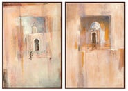 "Set of 2 Pictures """"Memories of Tunisia"" + ""Egyptian Impression"""