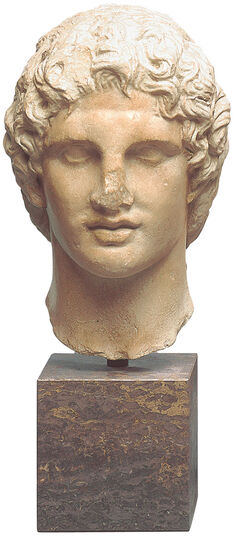Portrait Head of Alexander the Great