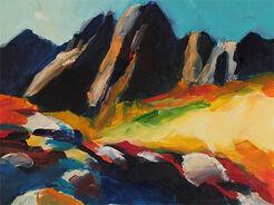 "Bild ""Landschaft 1"" (2006) (Unikat)"