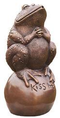 """Garden Sculpture / Gargoyle """"Kiss me"""", bronze"""