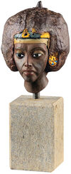 Head of the Queen Tiye, art casting