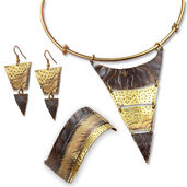"Jewelry Set ""Triangulo"""