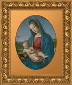 "Painting ""Madonna with Child"", (called. ""Madonna Conestabile""), about 1502-03"