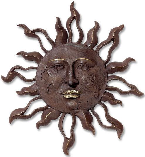 """Bronze relief """"Big Wall Sun"""""""