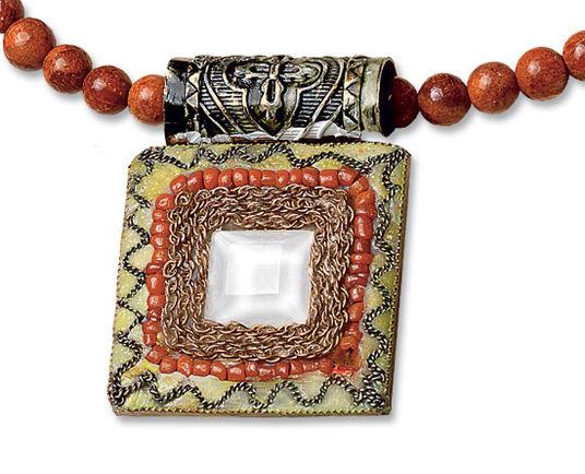 """Petra Waszak: """"Coral necklace"""""""