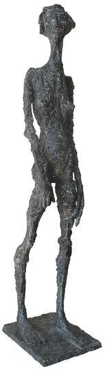 "Roland Zigan: Skulptur ""Die Erwartung"" (2008), Bronze"