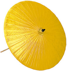 Thai Market Umbrella, Yellow Version