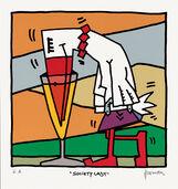 "Bild ""Society Lady"" (2012), ungerahmt"