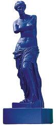 "Skulptur ""Venus von Milo - Blau"" (Reduktion, Höhe 32 cm), Kunstmarmor"