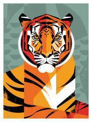 """Bild """"Tiger"""" (2015)"""