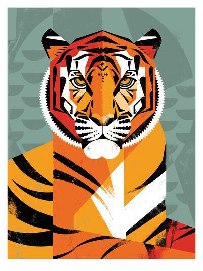 """Dieter Braun: Bild """"Tiger"""" (2015)"""