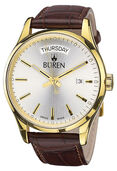 BÜREN Edition 1962 Day Date, gold-plated