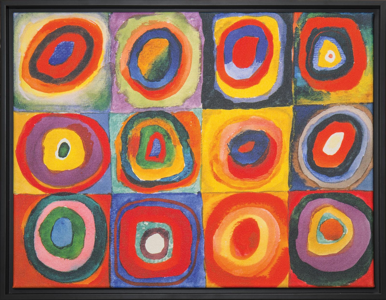 "Wassily Kandinsky: Bild ""Farbstudie Quadrate"" (1913 ..."
