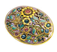 "Brooch ""Rose Garden"""