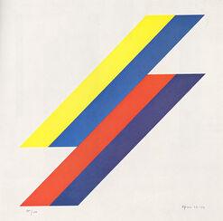 """Bild """"Ohne Titel"""" (1967-73), ungerahmt"""