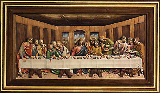 "Picture ""The Last Supper"" 1495-1498"