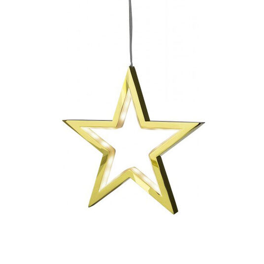 """LED-Hängeleuchte """"Starlight"""", goldfarbene Version"""