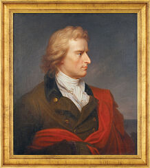 """Bild """"Schillerporträt"""" (1808-1809), gerahmt"""