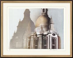 """Bild """"Dresdner Frauenkirche"""" (2005), ungerahmt"""