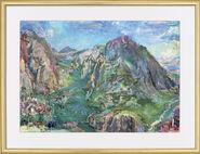 "Bild ""Delphi"" (1961), gerahmt"