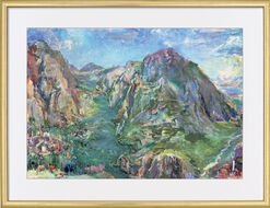 "Picture ""Delphi"" (1961) in a frame"