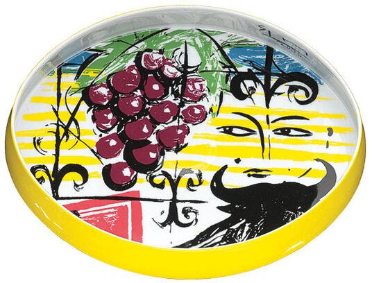 "Stefan Szczesny: Schale ""Grapes and Bull"", Porzellan"