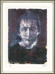 """Bild """"Heinrich Heine"""" (2006), gerahmt"""