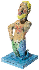 "Skulptur ""Neptun"" (2015), Bronze"