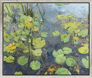 """Picture """"Water Lillies II, Zehdenick"""" (2010)"""