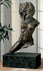 "Skulptur ""Passo di Danza"", Bronze auf Marmor"