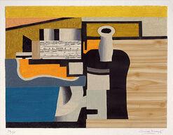 """Bild """"Hommage à Fernand Léger"""" (1992)"""