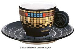 "Espresso Cup ""Fernwaerme Wien Tower"""