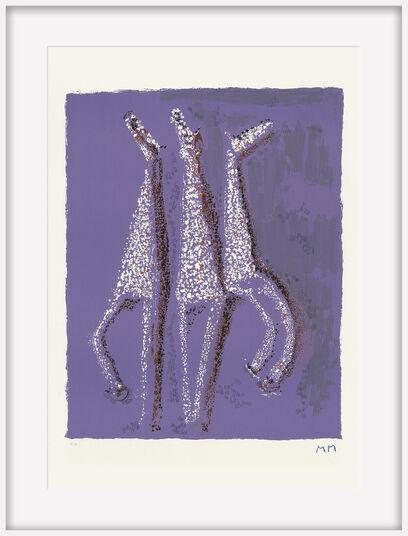 """Marino Marini: Bild """"Aquarius"""" (1978)"""