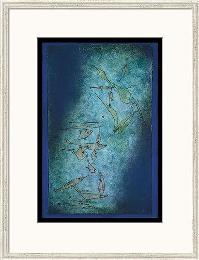 """Paul Klee: Bild """"Fischbild"""" (1925), gerahmt"""
