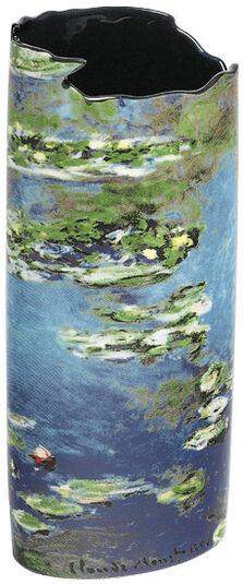 """Claude Monet: vase """"Waterlilies I"""""""
