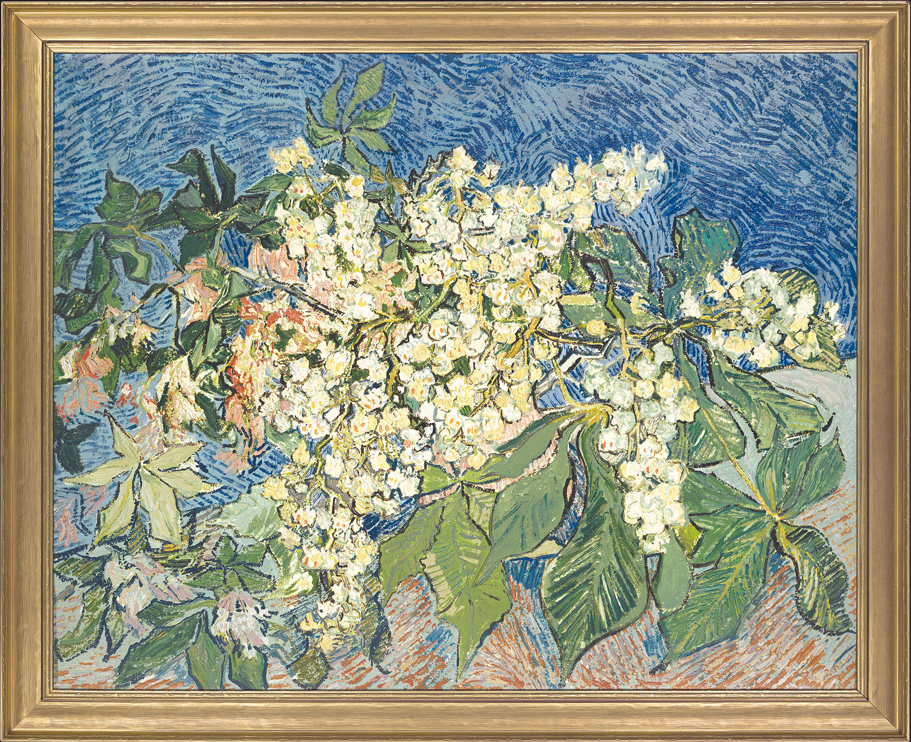 "Painting ""Blossoming Chestnut Branch"""
