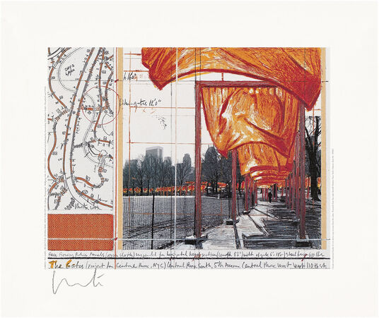 "Christo: Bild ""The Gates XV"" (2003)"