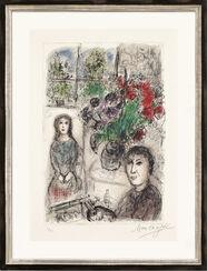 """Bild """"Staffelei mit Blumen"""" (1976)"""