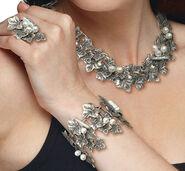 """Jewelry set """"Ivy Vines"""""""