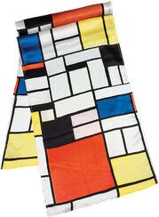 "Silk Shawl ""Mondrian"""