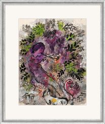"Picture ""The Boy in the Flowers"" (1955), framed"