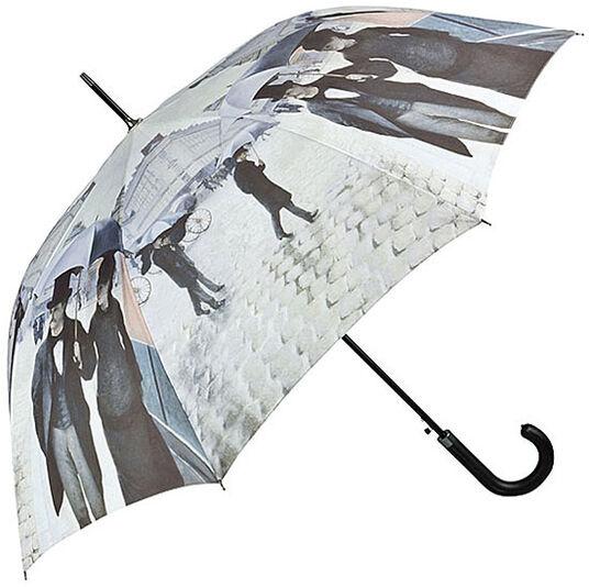 """Gustave Caillebotte: Stockschirm """"Paris im Regen"""""""