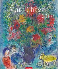 Marc Chagall: Künstlerkalender 2018