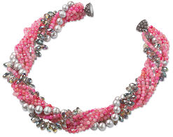"Necklace ""Pink Lady"""