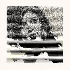 "Bild ""Amy and her drinks - Absinth"" (2014) (Unikat)"