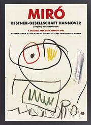 Arbeiten auf Papier 1901-197, Plakat zur Ausstellung (08.12.1989-19.02.1990)