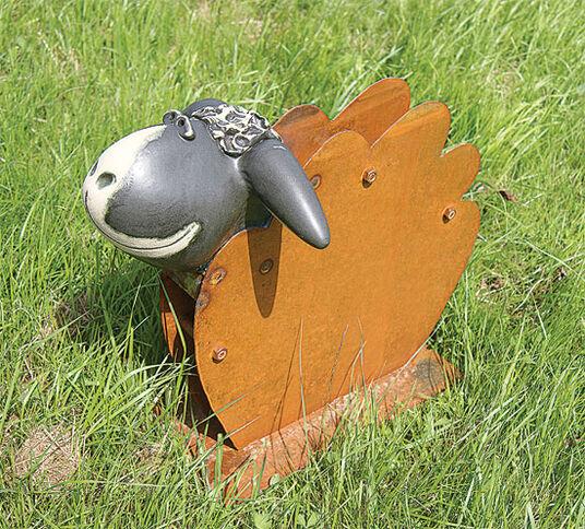"""Susanne Boerner: Garden Sculpture """"Sheep Igor"""""""