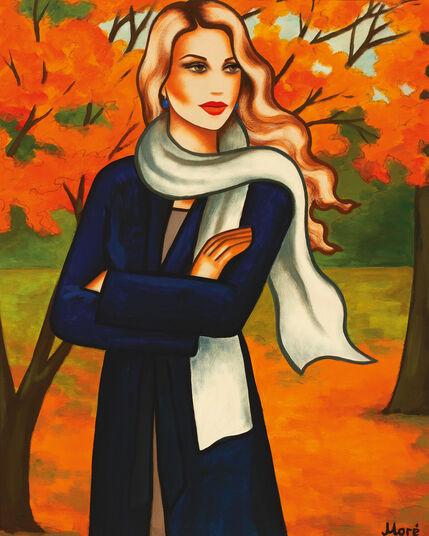 "Ekaterina Moré: Bild ""Herbstwind"""