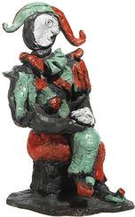 """Skulptur """"Harlekin"""" (2003), Bronze"""